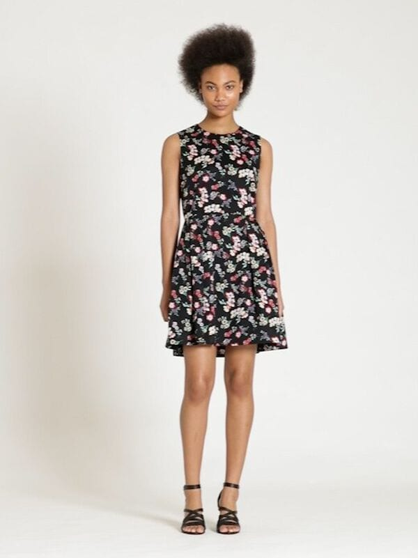 Gap - Sleeveless Print Fit and Flare Dress - 6