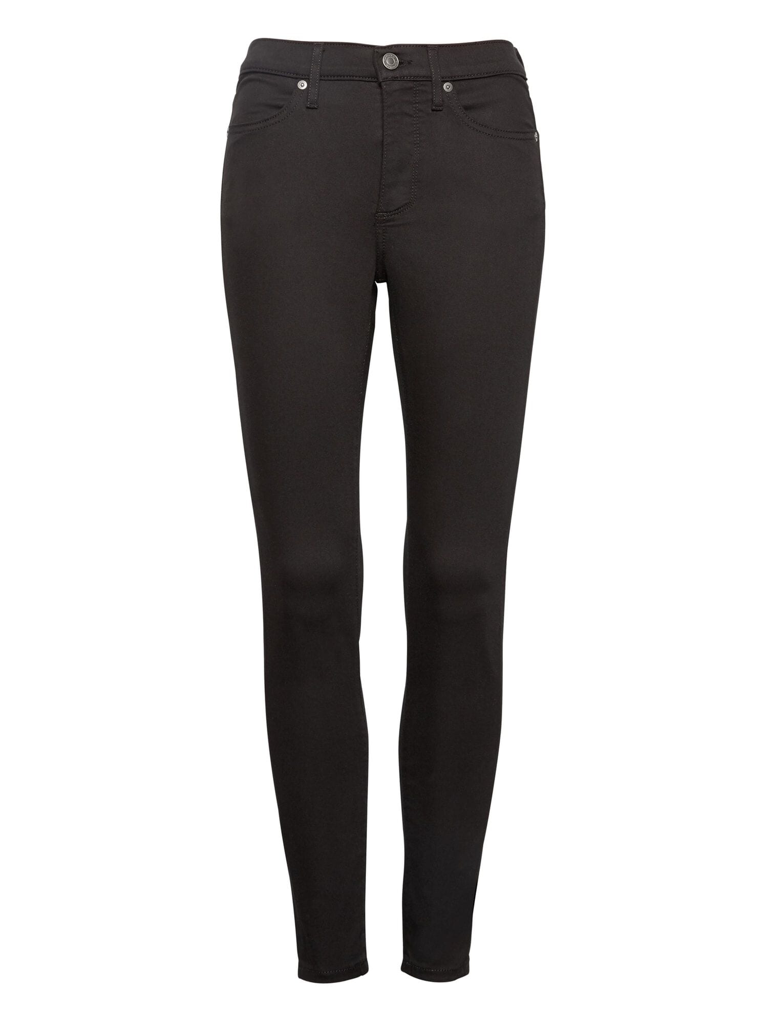 1ae4598523 Petite High-Rise Legging-Fit Luxe Sculpt Stay Black Ankle Jean ...