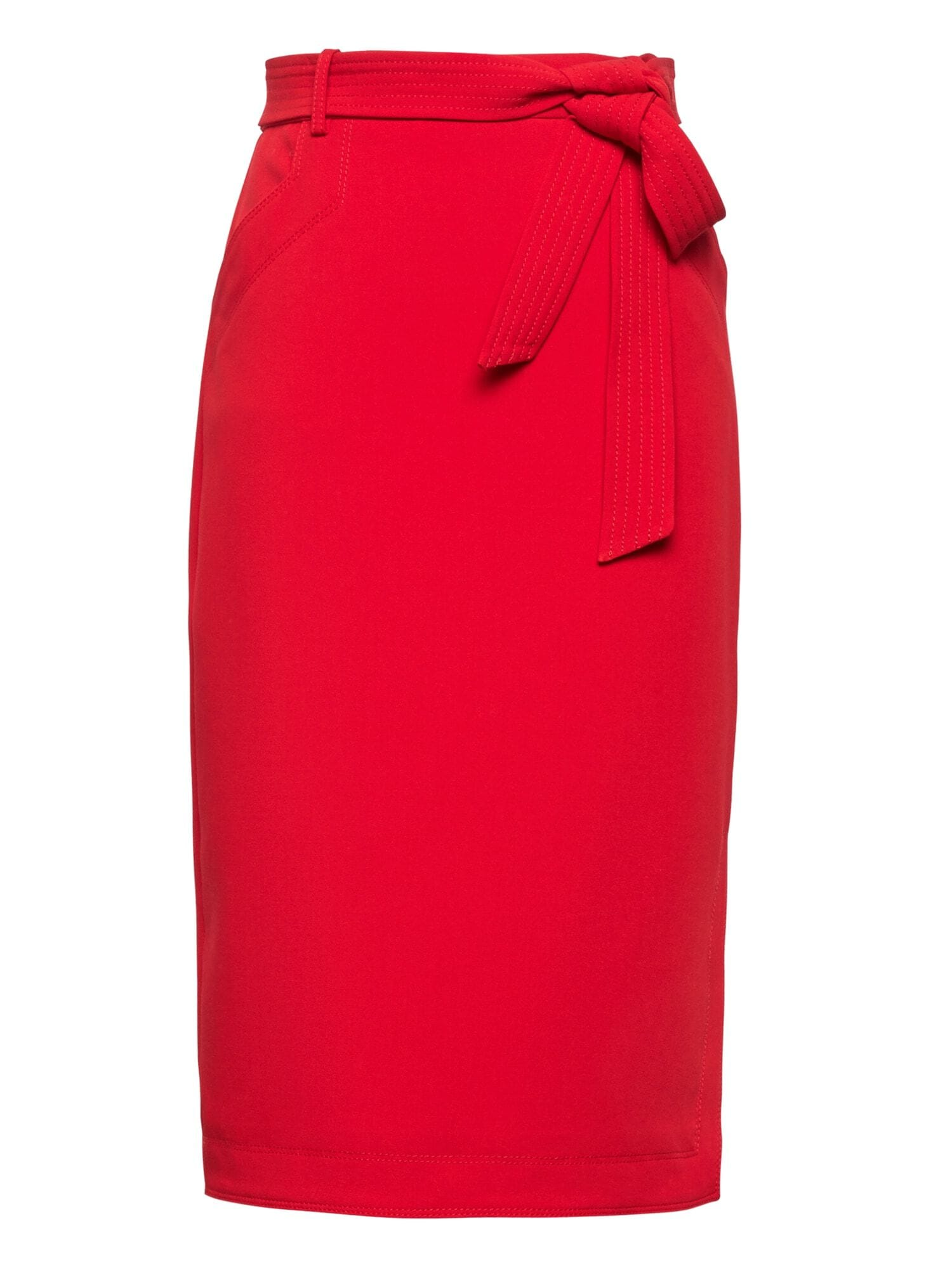 a17bc258f6 Petite Belted Pencil Skirt with Side Slit | Banana Republic® UK