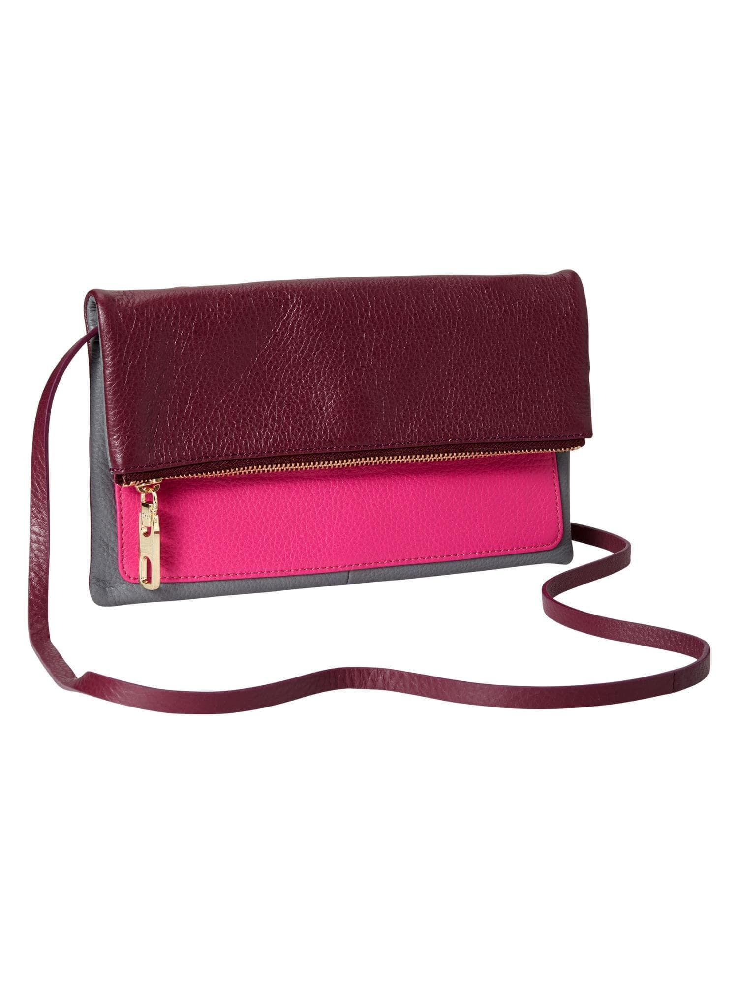 Colorblock leather crossbody bag  6a8b0d1fc090
