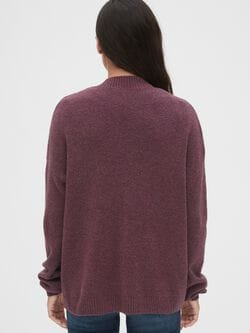 Relaxed Open Front Cardigan Sweater by Gap