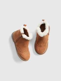 Toddler Faux Fur Booties by Gap