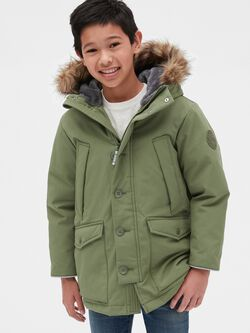Kids Cold Control Ultra Max Down Parka by Gap