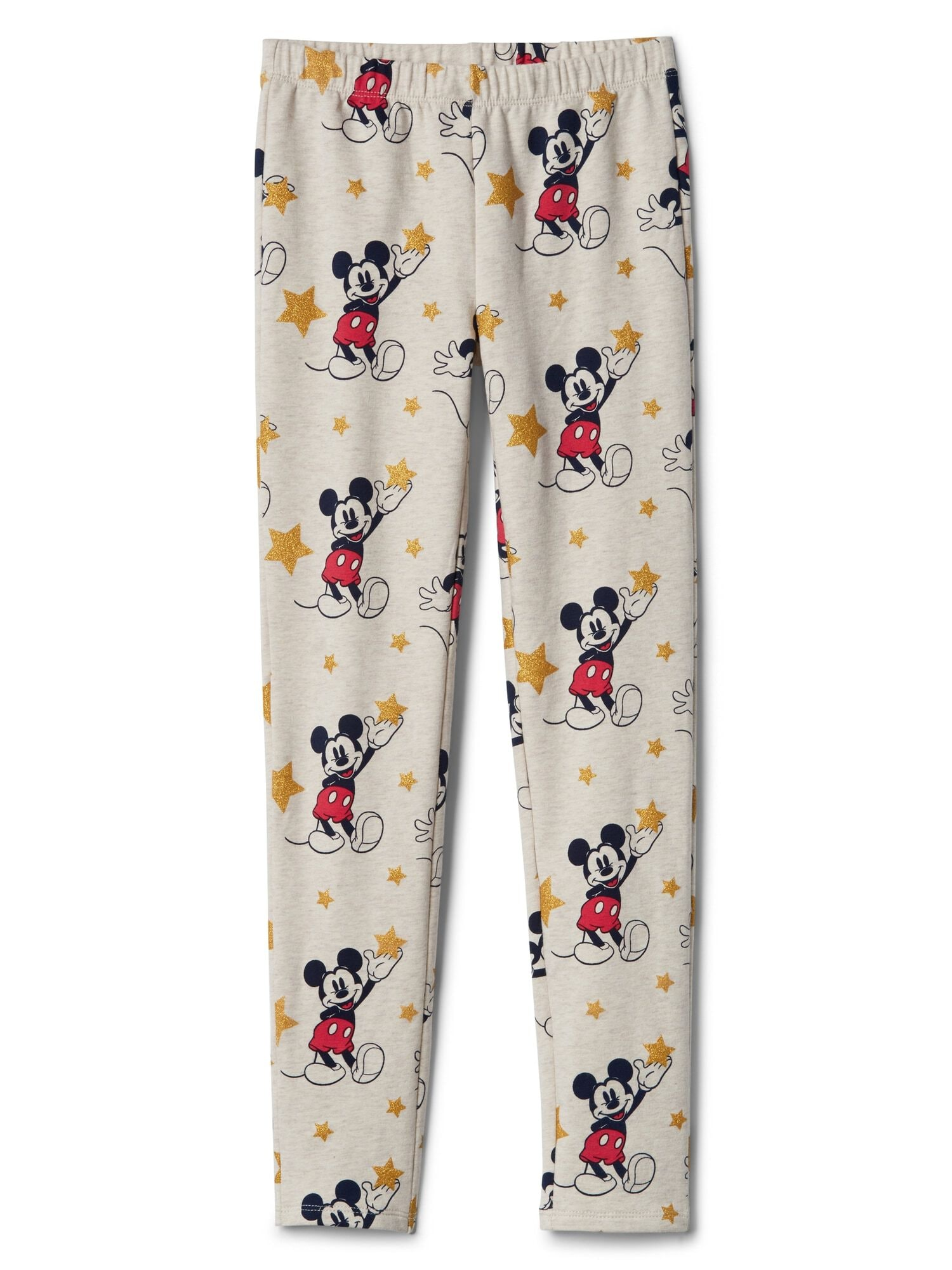 09057d7b80738 GapKids | Disney Mickey Mouse Leggings in Soft Terry | Gap® UK