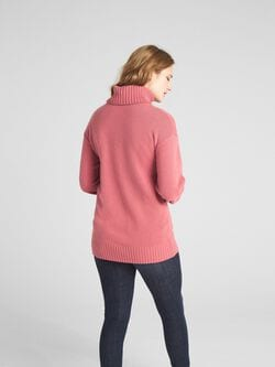 Turtleneck Pullover Sweater In Cashmere by Gap