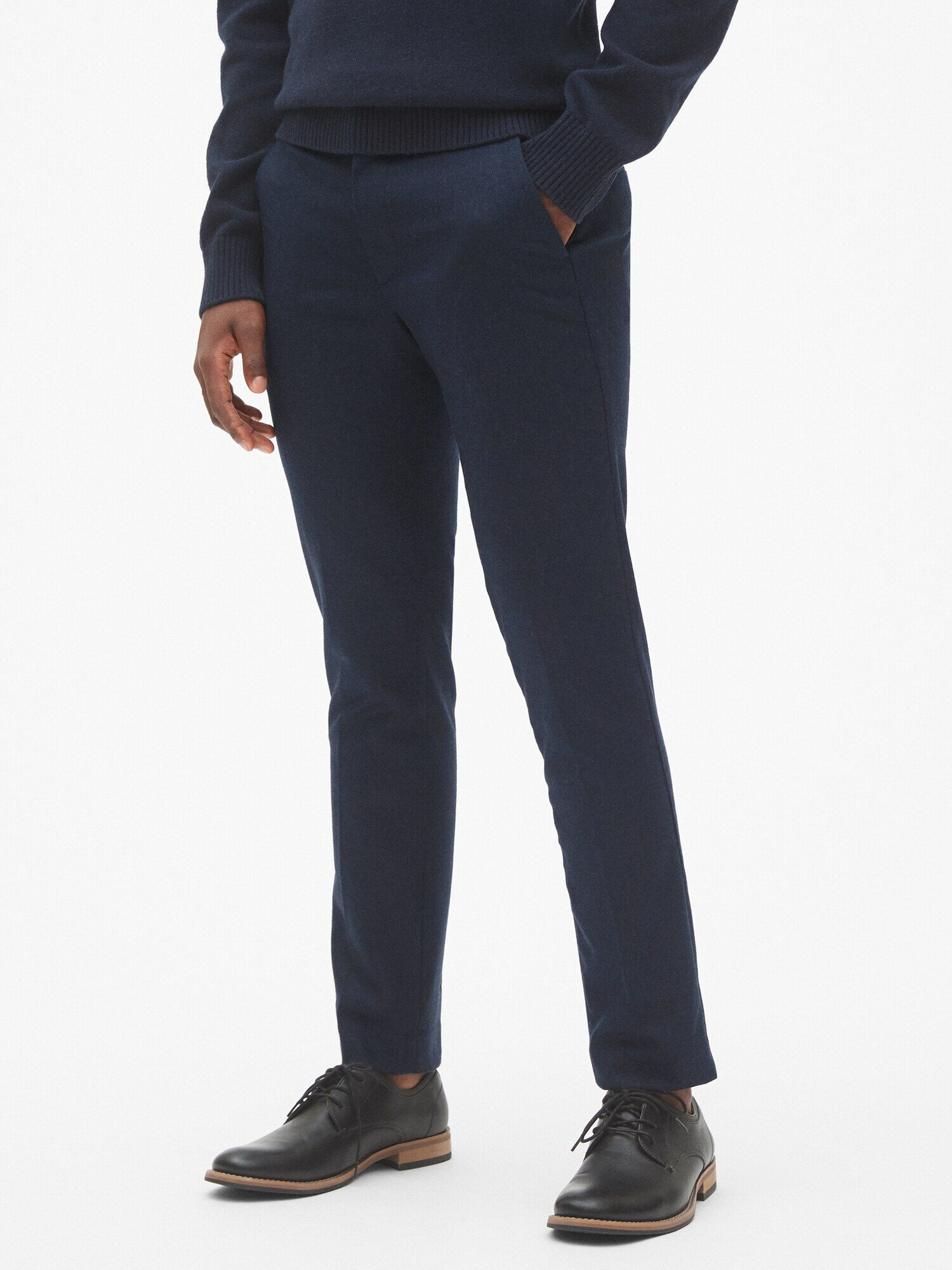 8be64d41c39 Wool Pants in Skinny Fit with GapFlex