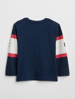 Logo Graphic Long Sleeve T Shirt by Gap