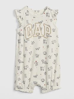 2338dab39cc Baby Girl Rompers at babyGap