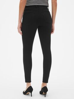High Rise True Skinny Jeans In 360 Stretch by Gap