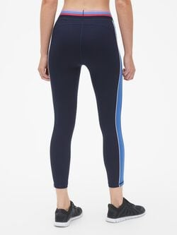 Gap Fit Colorblock 7/8 Leggings In Eclipse by Gap