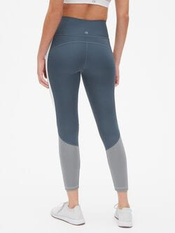 Gap Fit High Rise Colorblock 7/8 Leggings In Sculpt Revolution by Gap