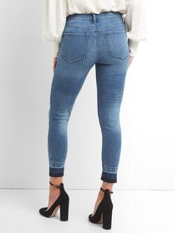 541bbc62cbceff Mid Rise Favorite Jeggings with Brushed Lining   Gap® UK