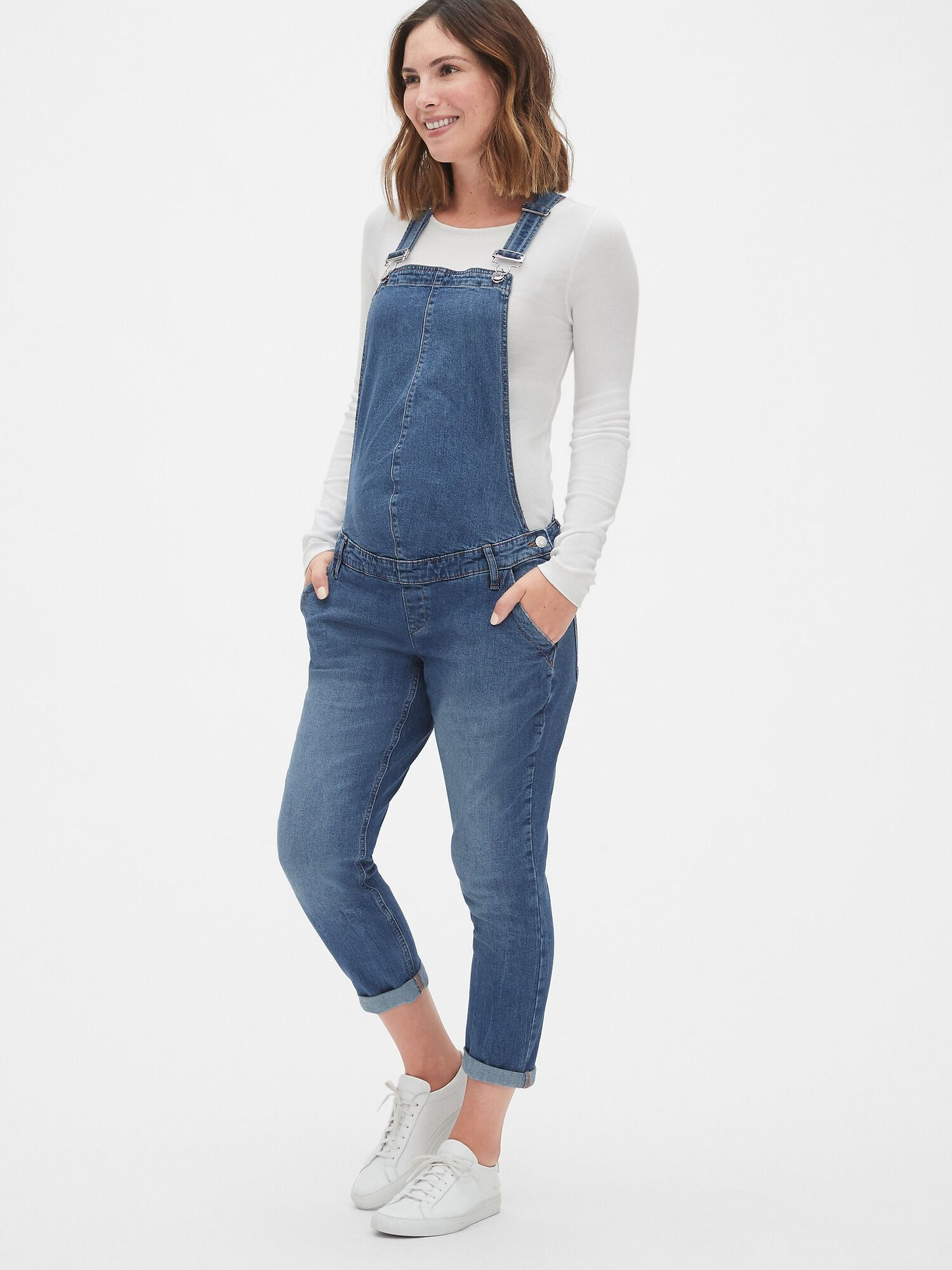 60545b091ca37 Maternity Denim Overalls | Gap® UK