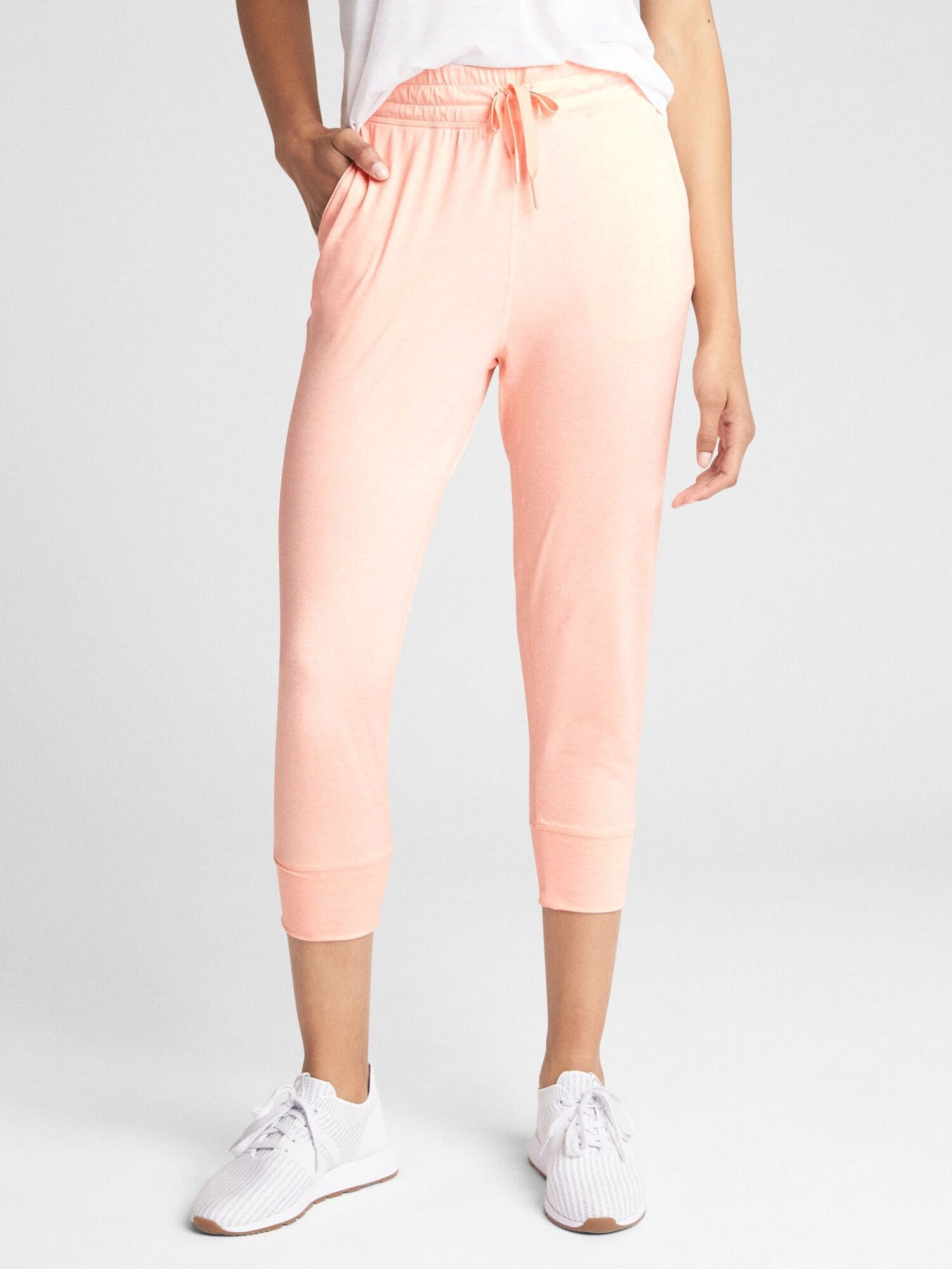 top style new items high fashion GapFit Crop Joggers in Lightweight Brushed Tech Jersey
