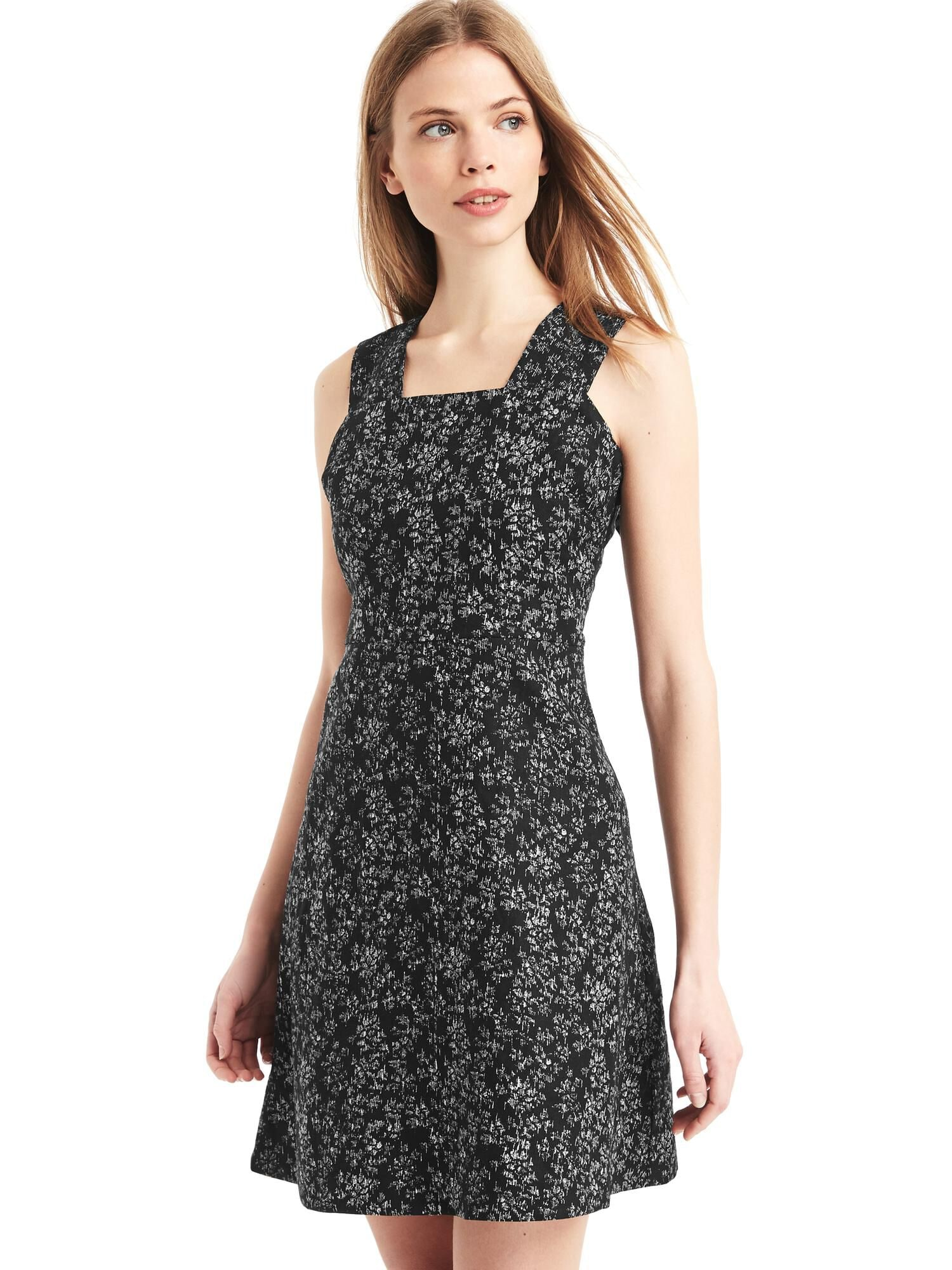 36795adac1 Linen fit and flare dress