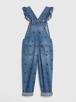 Dot Ruffle Overalls by Gap