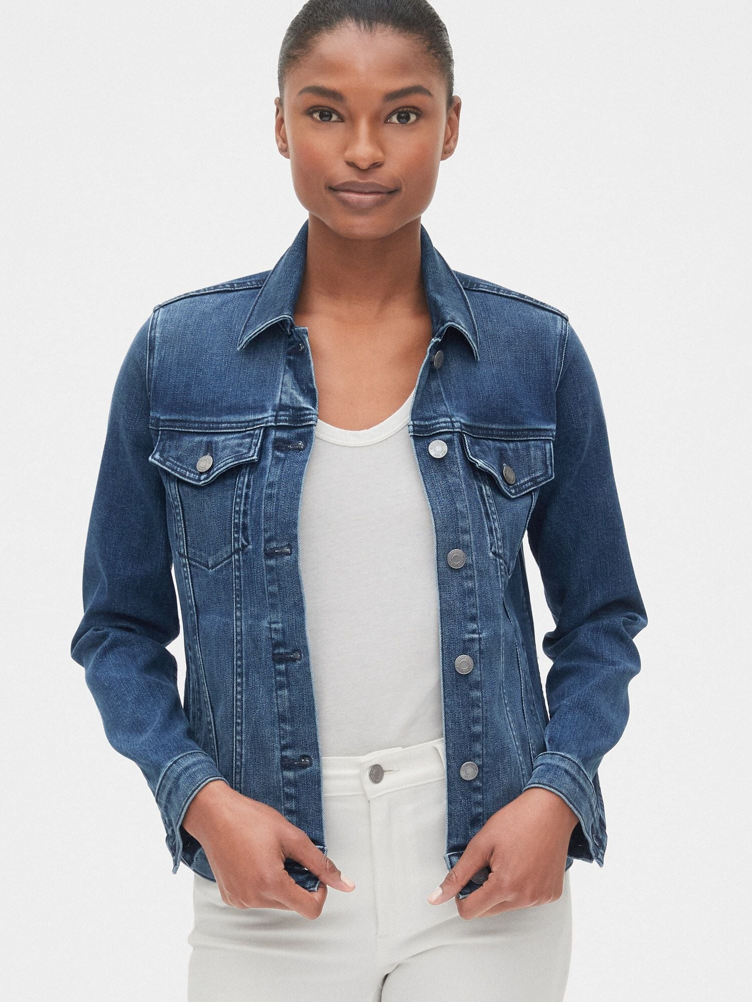 finest selection the cheapest lower price with Soft Wear Icon Denim Jacket | Gap® UK