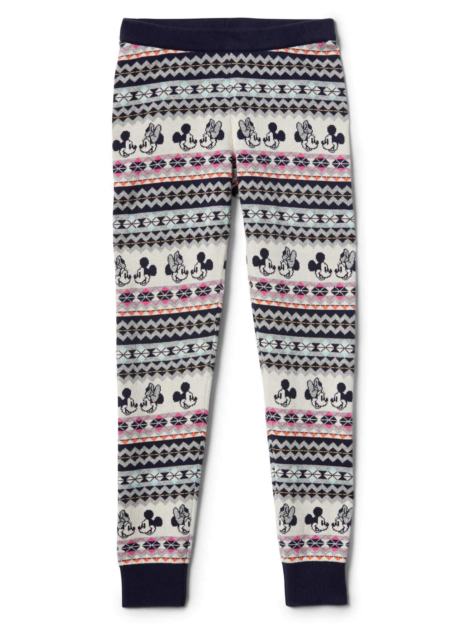 c55c106f73a18 GapKids | Disney Mickey Mouse and Minnie Mouse fair isle sweater ...