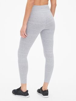 Gap Fit Stripe 7/8 Leggings In Performance Cotton by Gap