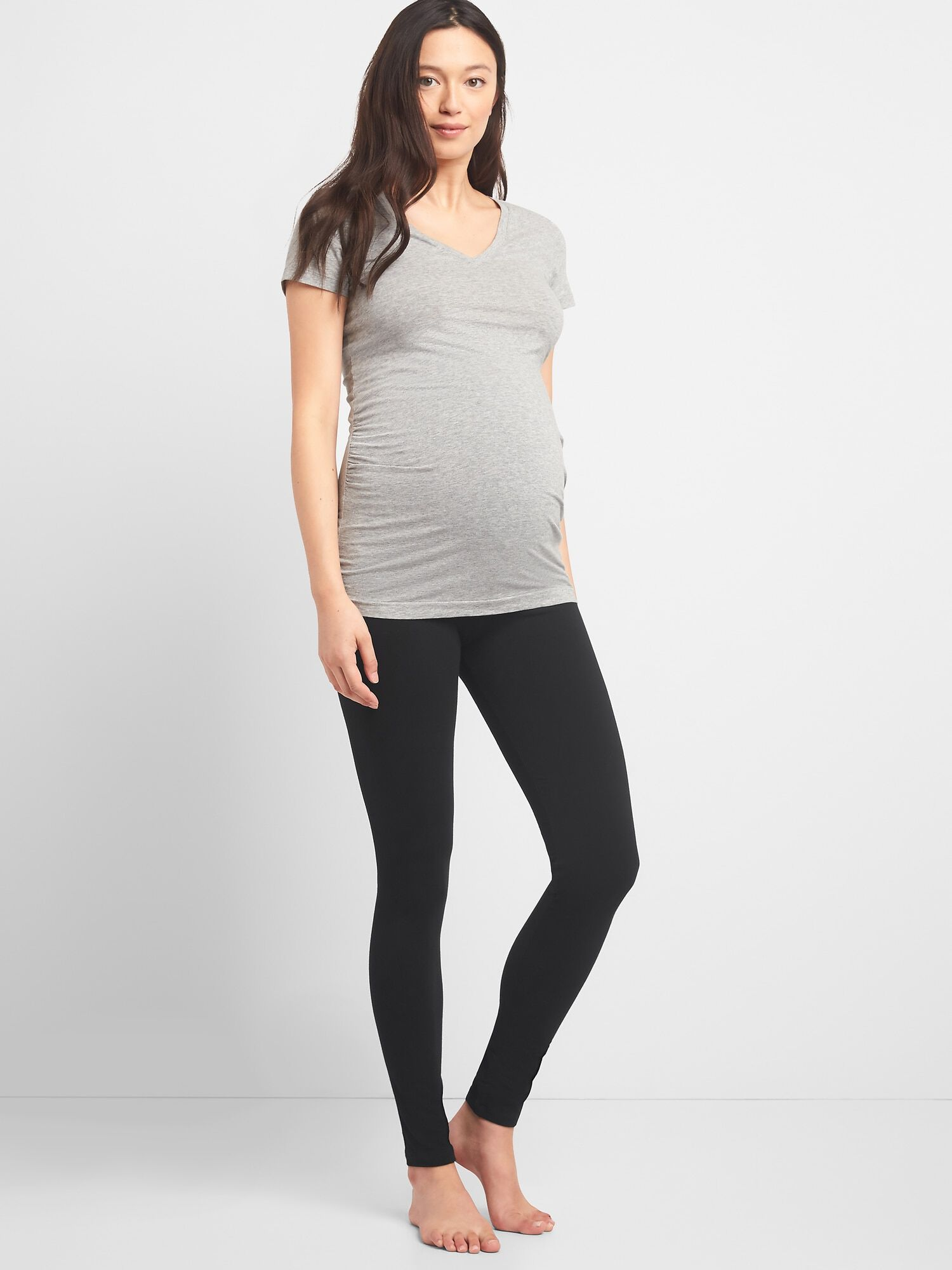 432a5a45bc902a Maternity Pure Body Full Panel Leggings