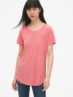 a225d769b39 Relaxed Crewneck T-Shirt in Luxe Jersey