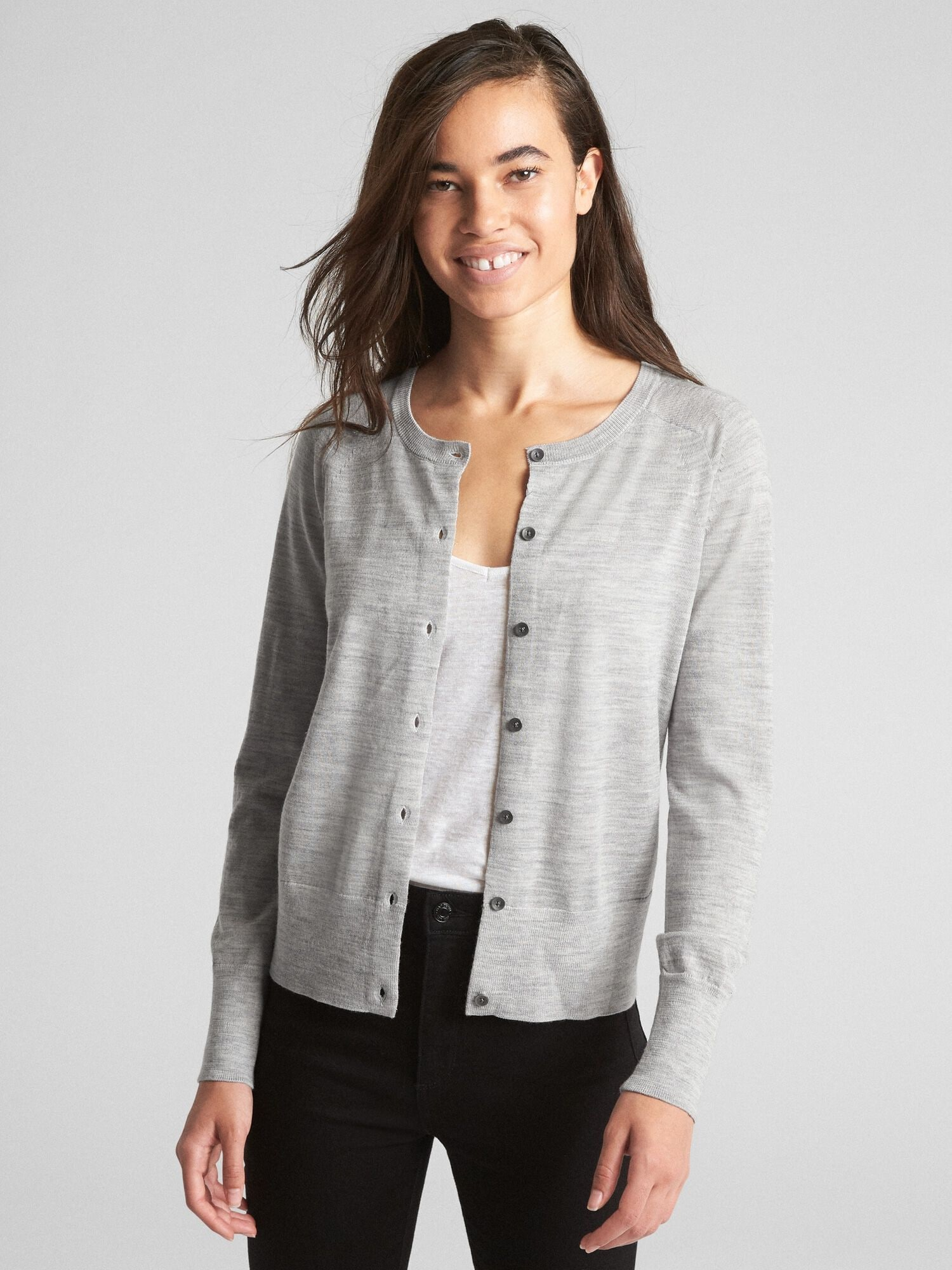 787a4097d Cardigan Sweater in Merino Wool