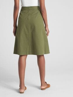 A Line Utility Skirt by Gap
