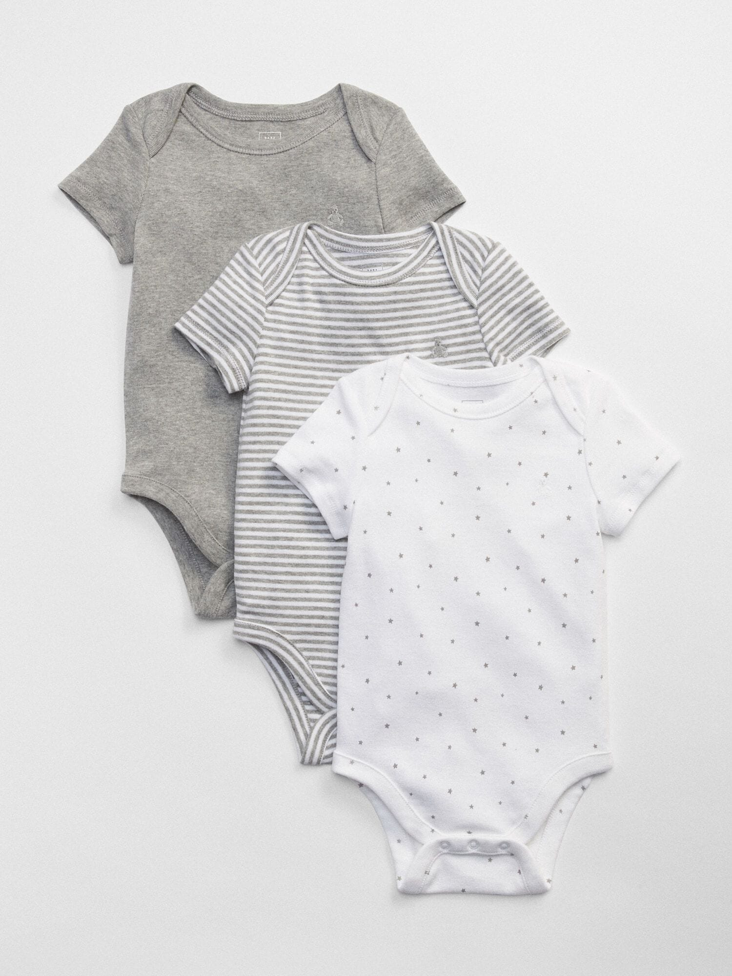 20ce20f7d First Favorite Short Sleeve Bodysuit (3-Pack)
