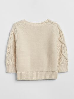 Cable Knit Sweater by Gap