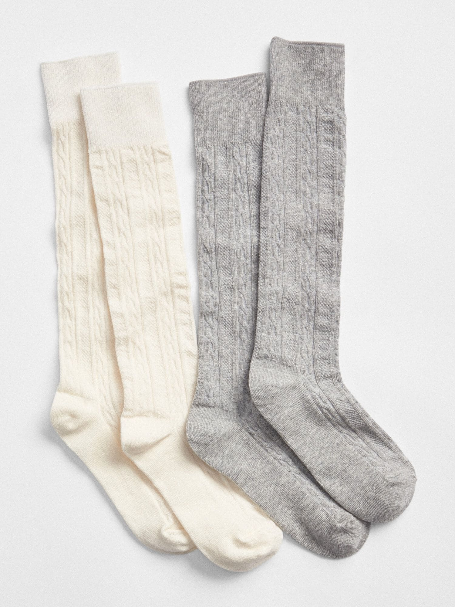 925eb2553 Cable-Knit Knee-High Socks