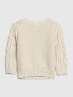 Baby Cable Knit Sweater by Gap