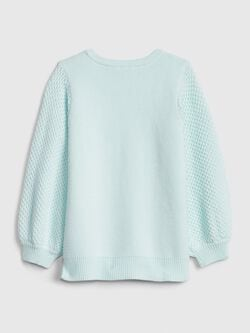 Toddler Balloon Sleeve Tunic Sweater by Gap