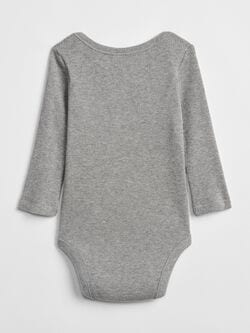 Waffle Knit Long Sleeve Bodysuit by Gap