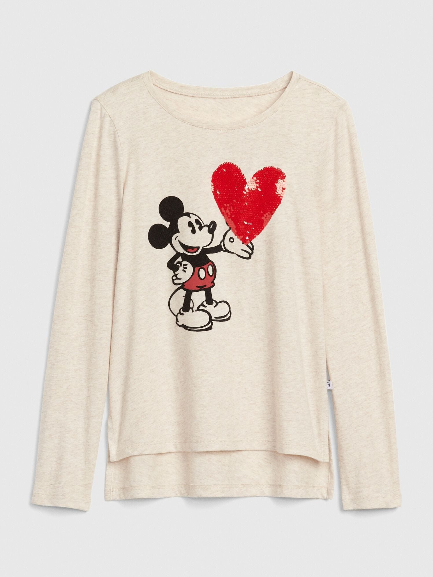 5ea4d671 GapKids | Disney Mickey Mouse Flippy Sequin T-Shirt | Gap® UK