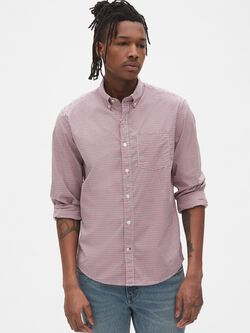 7a7008a01c Lived-In Stretch Poplin Shirt in Untucked Fit