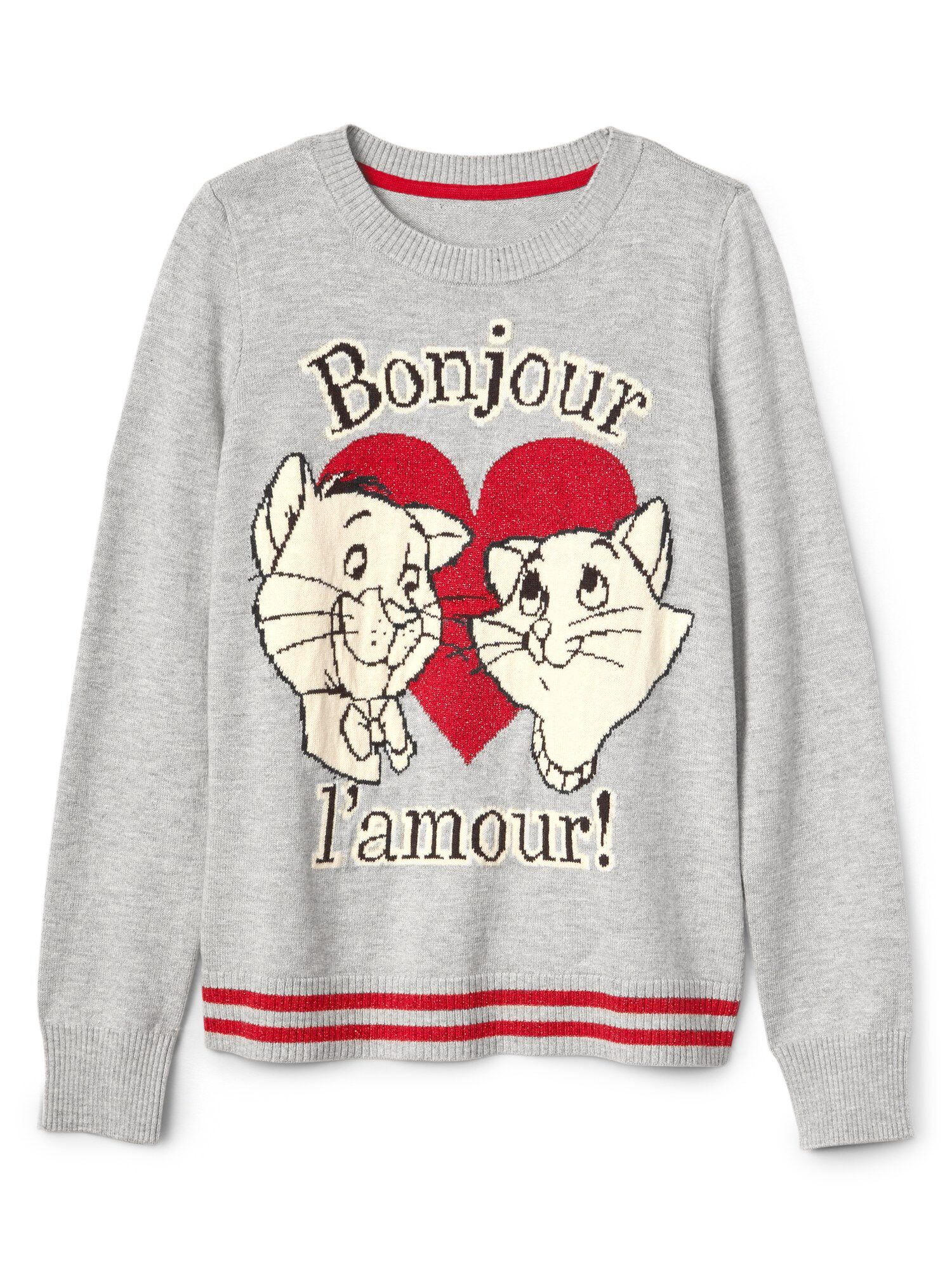 9dd916f6 GapKids | Disney Aristocats Crewneck Sweater | Gap® UK