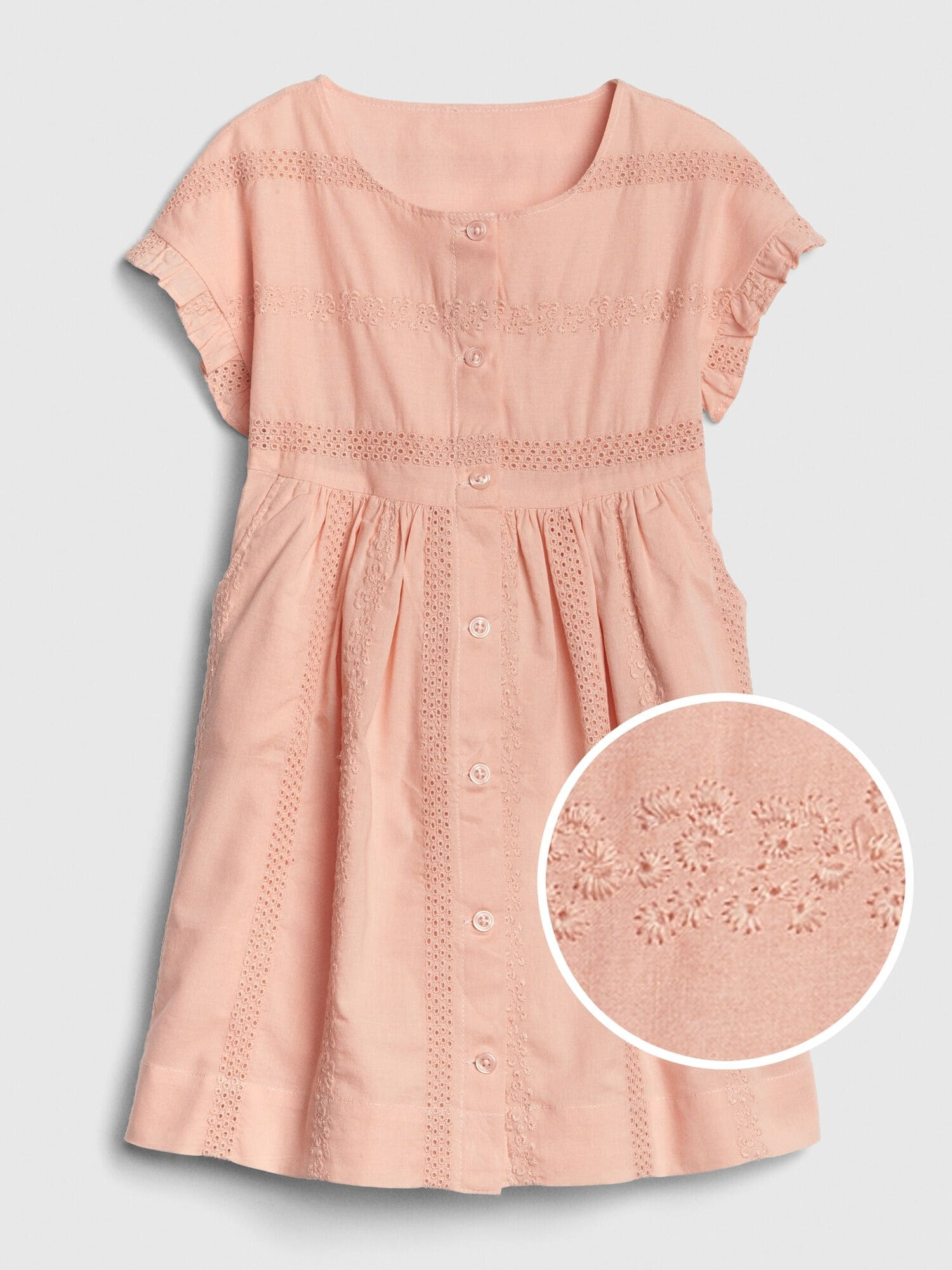Clothing, Shoes & Accessories Helpful Baby Gap Girls Pink Summer Dress Age 4 Years