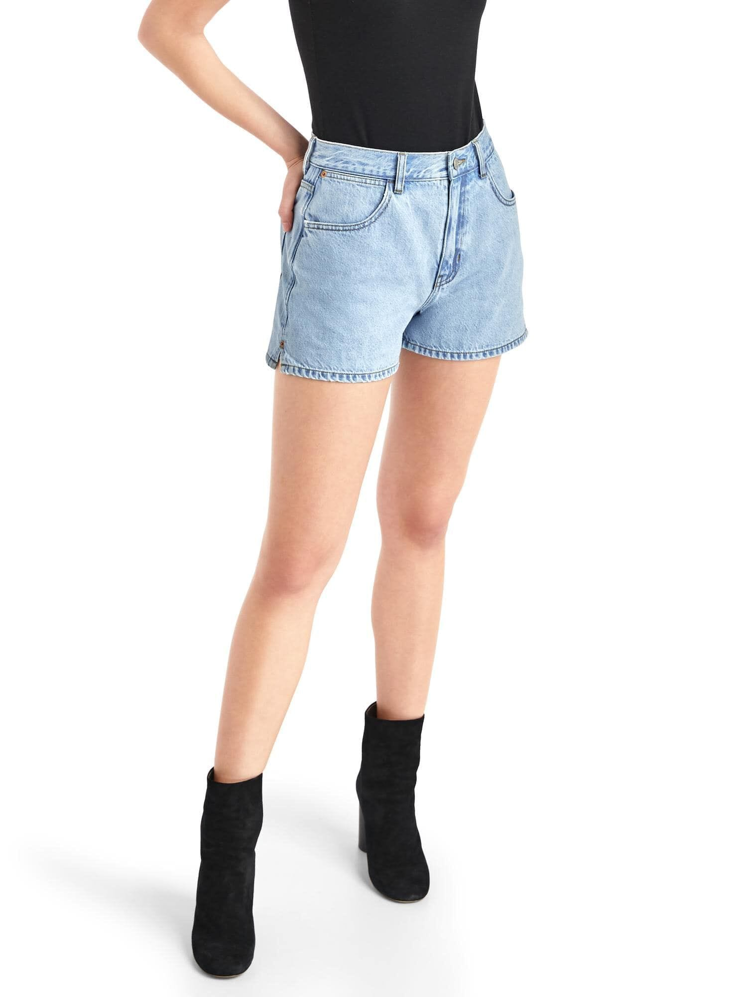 97a4ccec278 The archive re-issue classic fit high rise denim shorts
