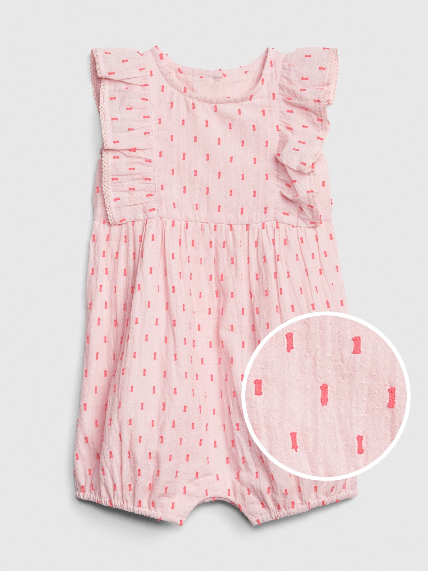 Clothes, Shoes & Accessories Up To 3 Months Helpful Baby Gap Girls Pink Dungarees Baby