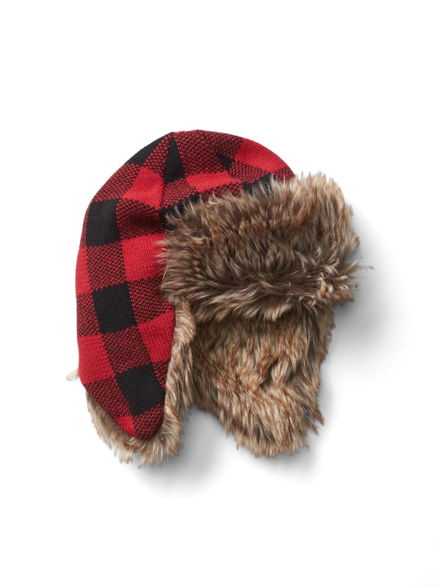 a1ea8d4c0b4 Buffalo plaid trapper hat