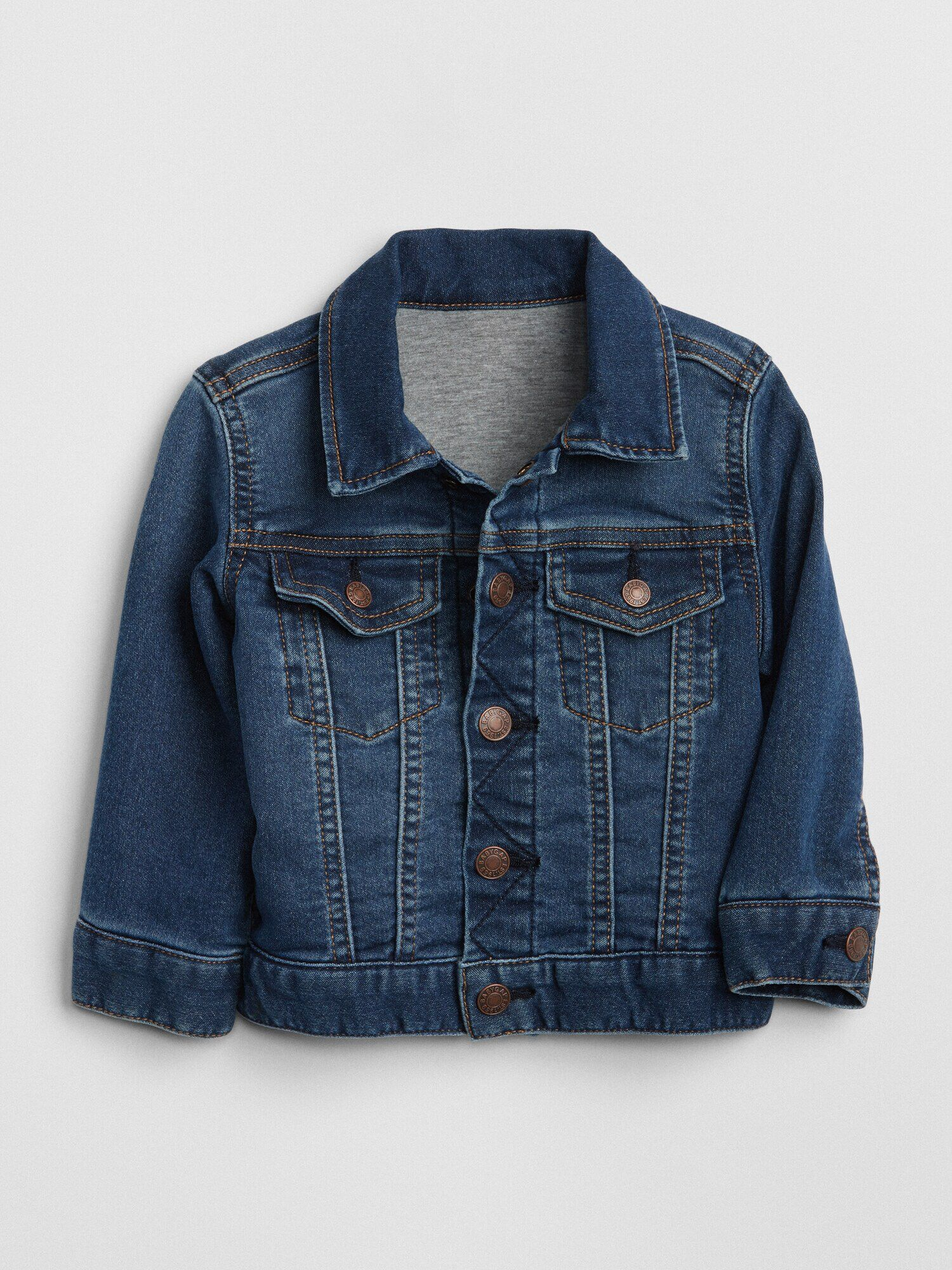 70550a37962 Icon Jersey-Lined Denim Jacket