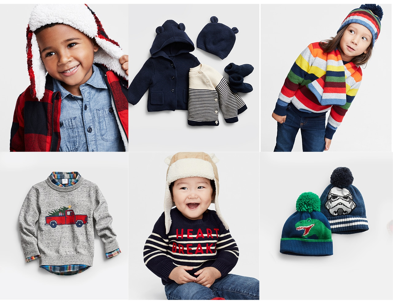 toddler & baby boy - toddler & baby boy in colorful outer wear clothing