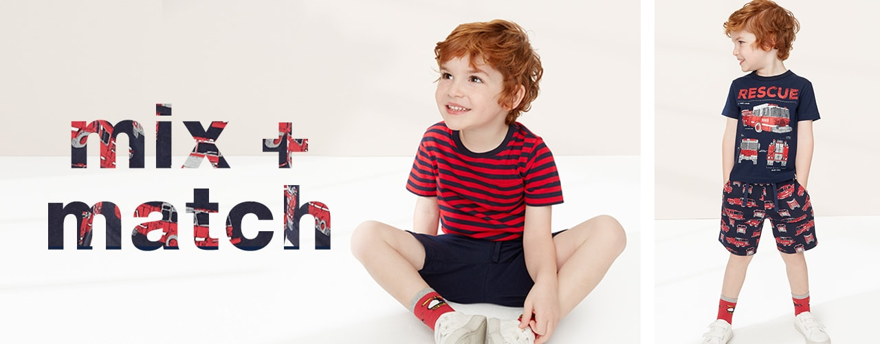 Toddler Boy Mix and Match