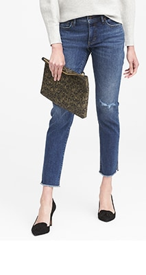 womens jeans straight