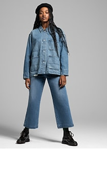 denim through the decades - for him and her