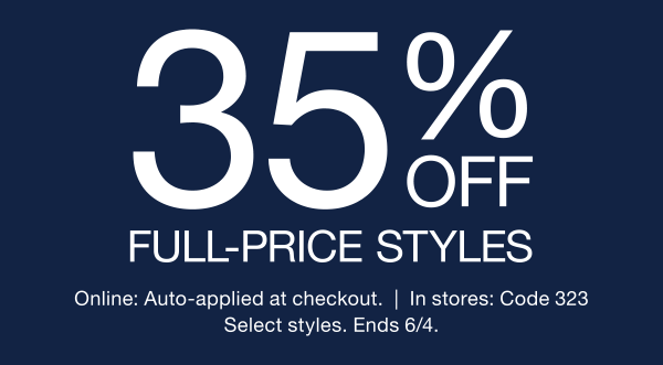 88a3bb49978 30% off full-price styles