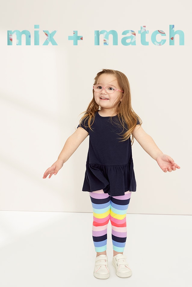 Toddler Girl Mix and Match