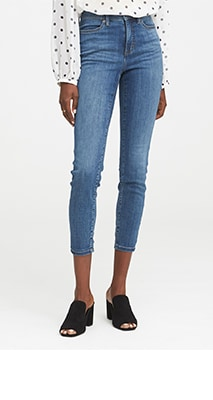 womens jeans high rise
