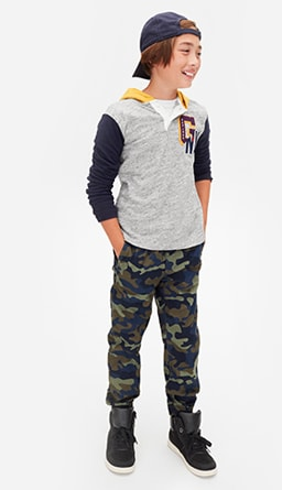 fd448045346b Boys Trousers at GapKids