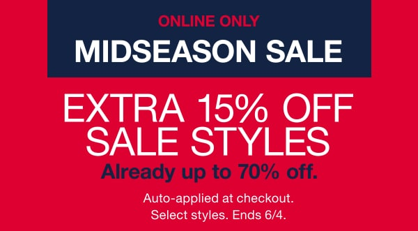 3685d9baee89 extra 15% of sale styles